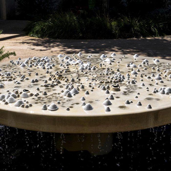 Facebook campus waterfeature