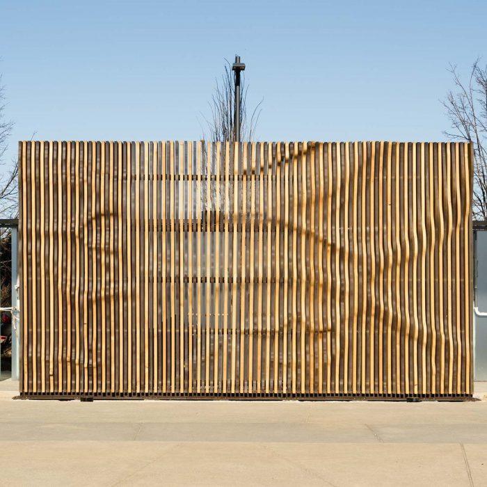 Bay Wall Installation